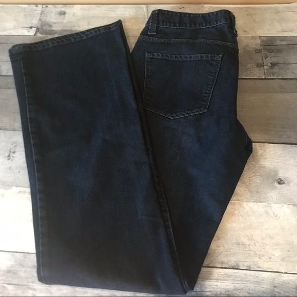 Ann Taylor Denim - Ann Taylor Modern Boot Cut Dark Wash Jeans - 47